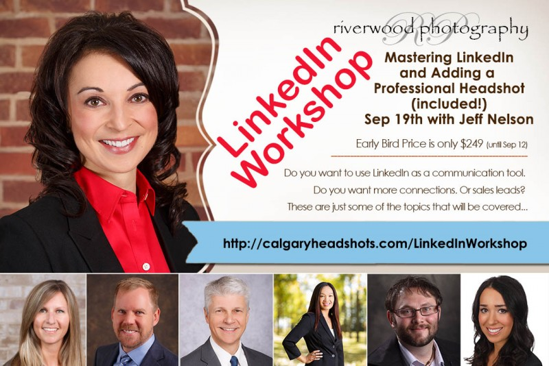 Mastering LinkedIn & Adding a Professional Headshot (included!)